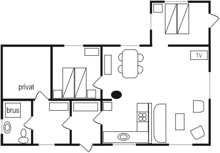 SKON-23, Kongevejen 23, Læsø