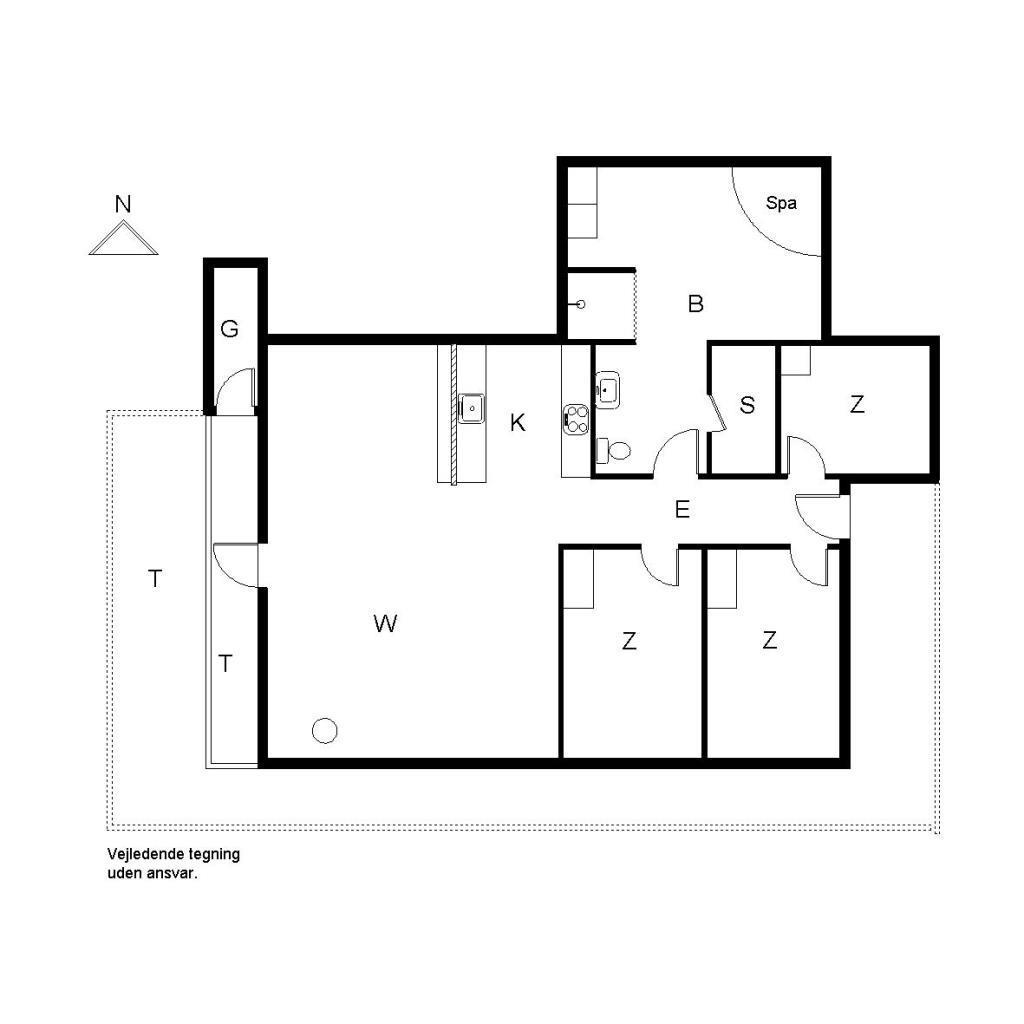Ferienhaus 3119 - Søndervang 98
