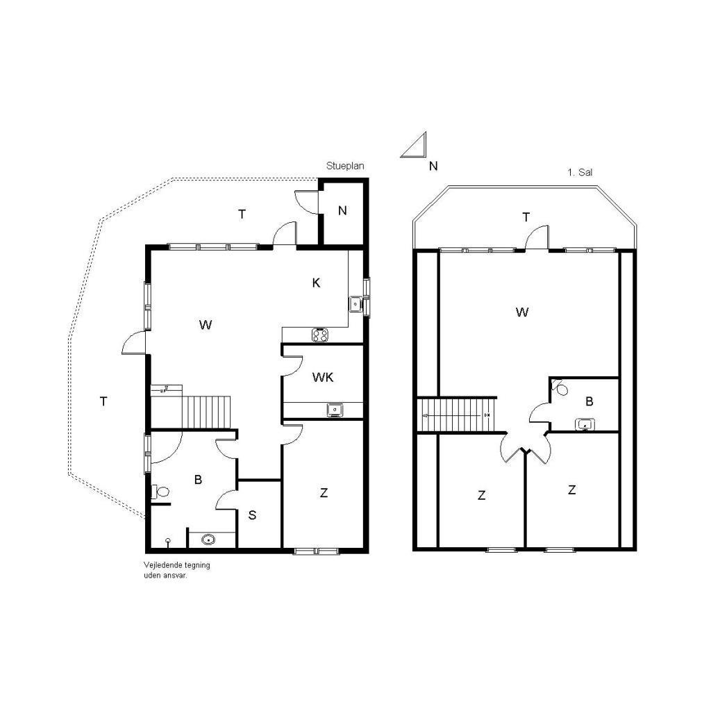 Ferienhaus 1303 - Porsevej 3